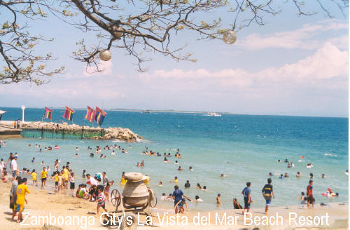 Zamboanga City Beaches Featured Beach La Vista Del Mar Beach