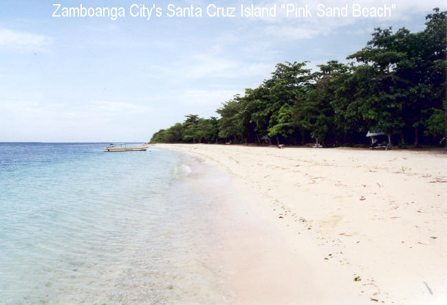Zamboanga City Philippines  city photos : Zamboanga City Beaches Featured Beach: Great Santa Cruz Island's ...