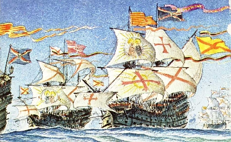 Armada in early 1600s spanish armada in early 1600s publicscrutiny Choice Image