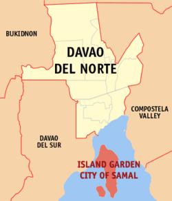 Island Garden City of Samal, Davao del Norte, Philippines ...