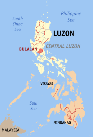 Marilao Bulacan Philippines Universal Stewardship - Marilao map