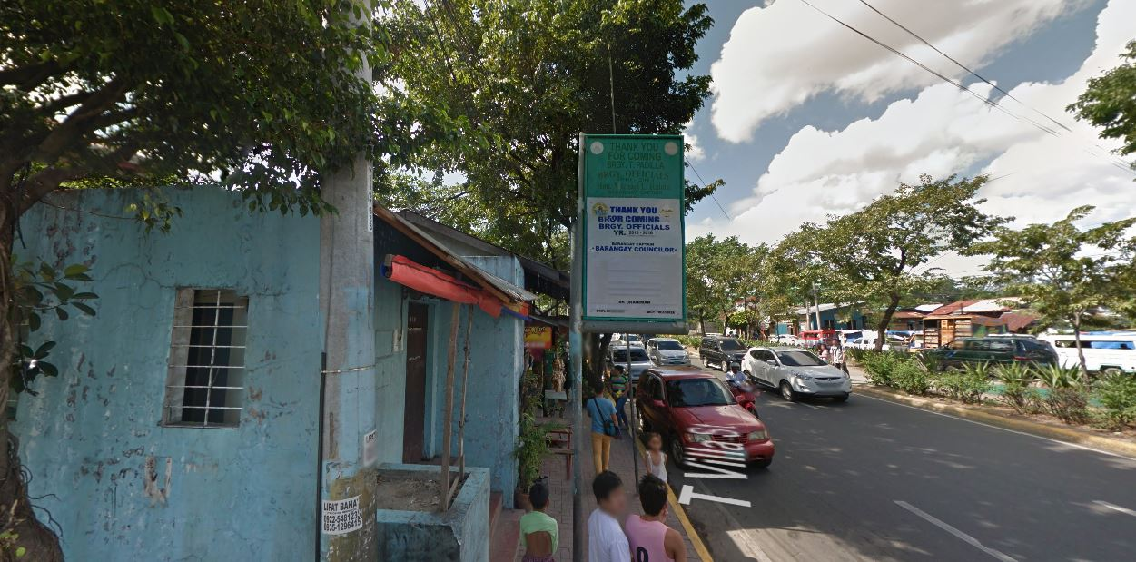 File:Welcome Sign of barangay T. Padilla, Imus Street, T