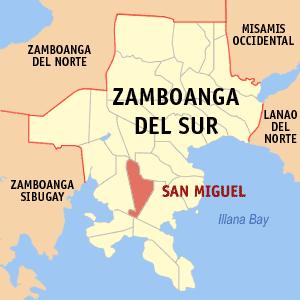 San Miguel Zamboanga del Sur Philippines  Universal Stewardship