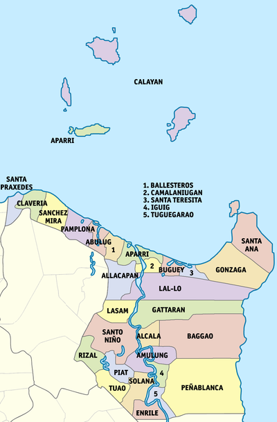 Cagayan Philippines Map.Cagayan Province Philippines Philippines