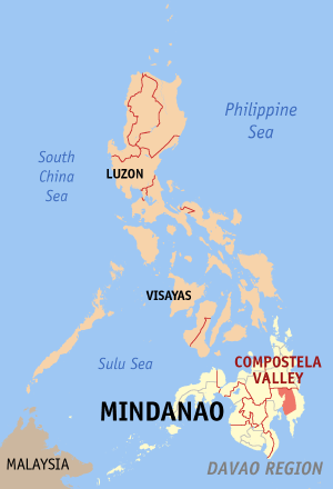 Compostela valley Ph locator map.png