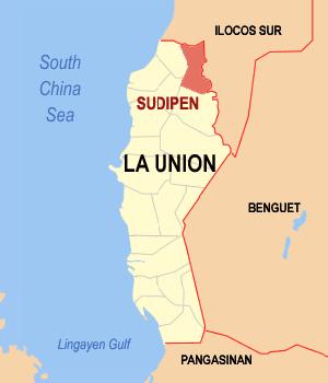 Bigbiga Sudipen La Union Philippines Universal Stewardship - Launion map