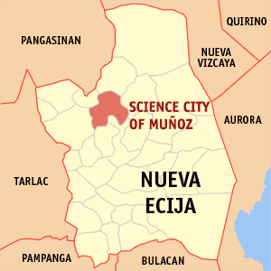 Science city of munoz map locator.png