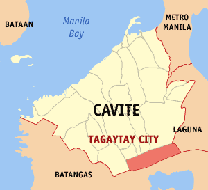 Tagaytay cavite map locator.png