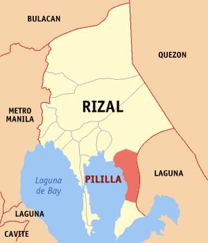 Rizal Philippines Map.Pililla Rizal Philippines Philippines