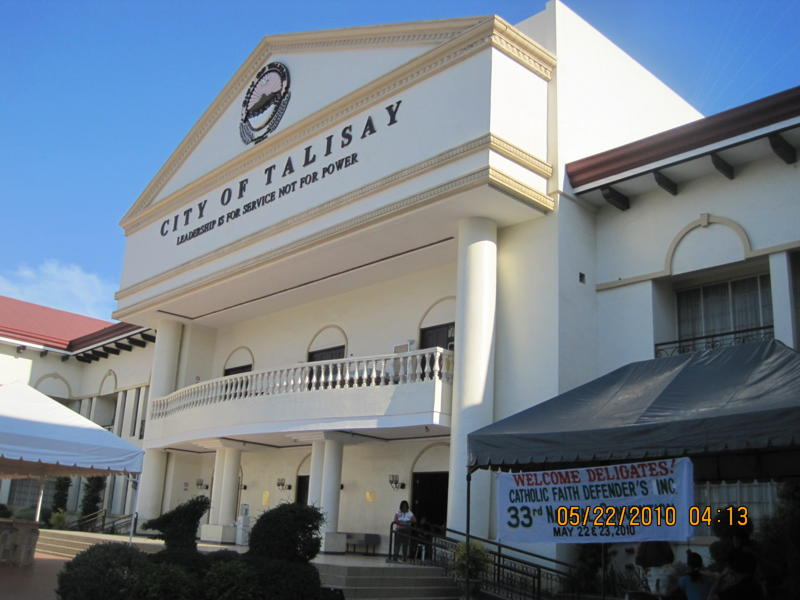 City Hall Philippines City Hall of Talisay City Cebu