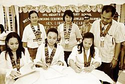 Photo (from left) Rep. Dulce Ann Hofer, Zamboanga Sibugay Congresswoman, Sen. Loren Legarda, and Rina Lopez Bautista.