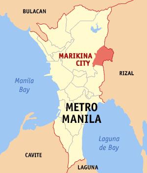 Marikina city philippines universal stewardship marikina city map locatorg stopboris Gallery