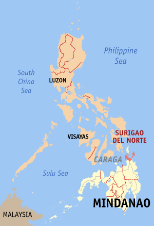 Surigao del norte philippines map locator.png