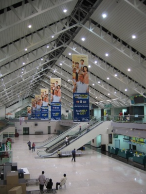 Inside the terminal at Francisco Bangoy International Airport (August 18 2005).jpg