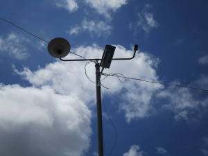 Solar power lamps donated by OBI, inc. and zamboanga.com to barangay Baguingin Lanot, Alimodian, Iloilo.jpg