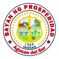 Municipality of Prosperidad Official Seal.png