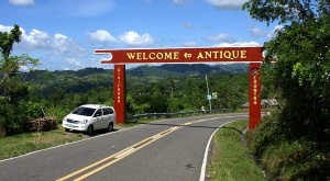 Entering Antique from Iloilo City