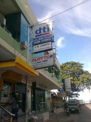 Dti of poblacion 1 oroquieta city.jpg