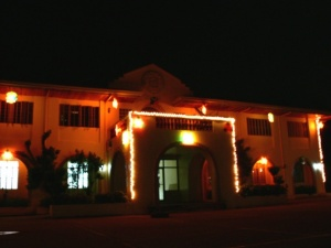 Naval biliran municipal hall night.jpg