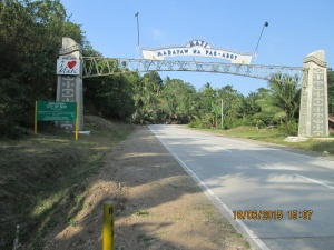 Welcome Arch to the City of Mati, Davao Oriental.JPG