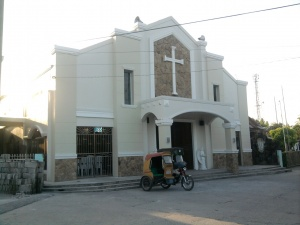 San Vicente,Lubao Catholic Church.jpg