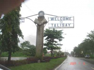 Talisay city welcome sign negros occidental.JPG