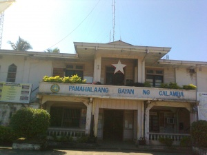 Municipality Hall of calamba in the barangay of southwestern poblacion misamis occidental.jpg