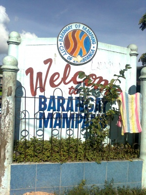 Mampang zamboanga city welcome marker.jpg
