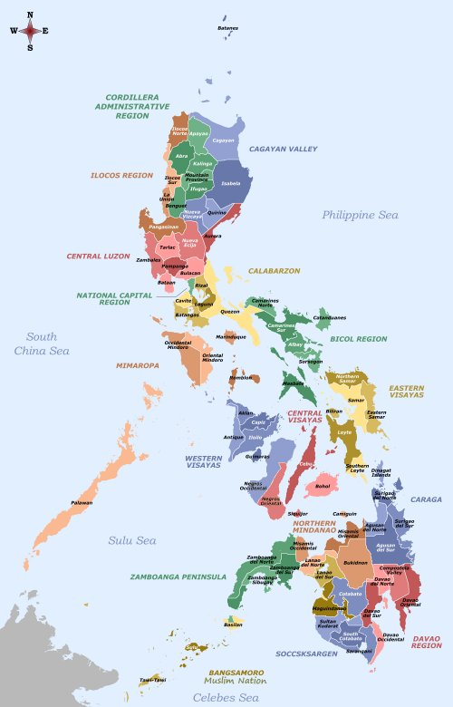 Regions of the philippines  Universal Stewardship