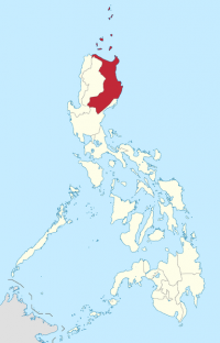Region 2 Cagayan Valley in Luzon.png