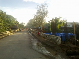 Bridge under construction Sanito, Ipil, Sibugay.jpg