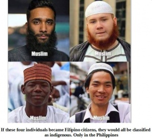 Being Muslim does not make you indigenous.JPG