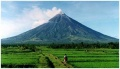 Mayon Vocano in the Bicol Region Philippines