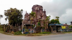 Ancient Church, Poblacion, Libmanan, Camarines Sur.jpg