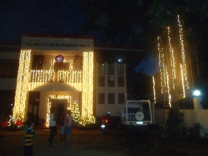 Talon talon barangay hall december 2013.jpg