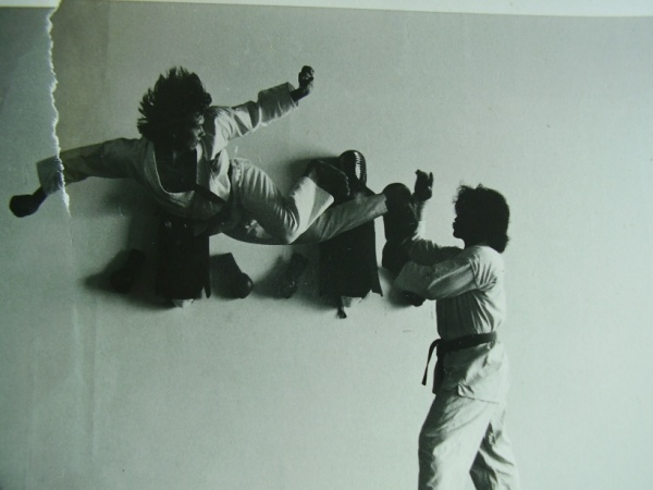 Hapkido Flying (jumping) Double back kick by Frank Maletsky.jpg