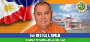 Gov. George T. Hofer, Zamboanga Sibugay Province