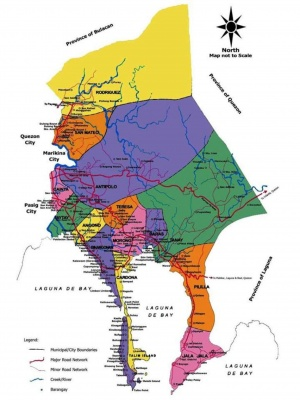Rizal Philippines Map.Rizal Province Philippines Philippines