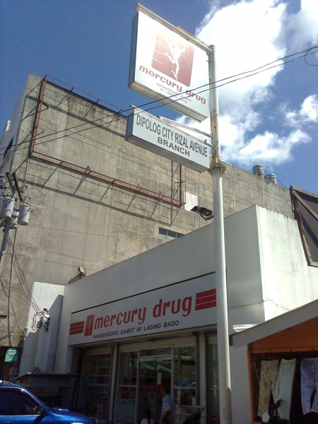 File:Mercury drug central dipolog city zamboanga del norte.jpg