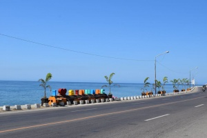Sinunuc beautification of seaside Hwy.jpg
