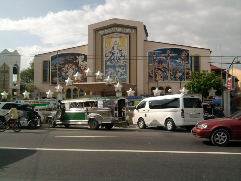 File:Holy Cross Parish Church Catholic sta.cruz lubao.jpg